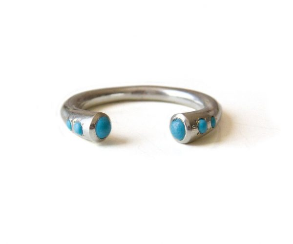 Silver Turquoise Ring