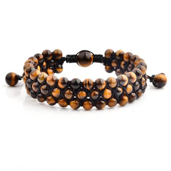 Tiger Gemstone Bracelet