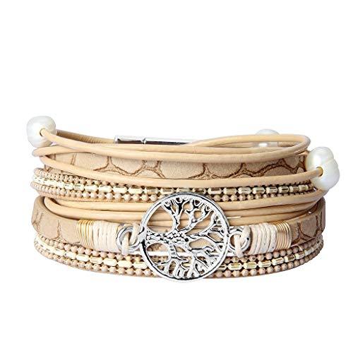 Wrap Tree Charm Bracelet